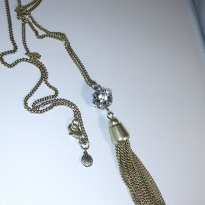 "J. Crew Tassle Necklace 28"" Chain"